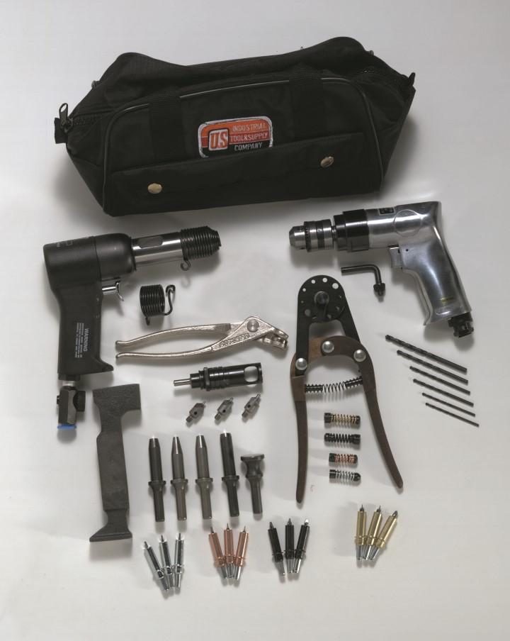 Deluxe Student Rivet Gun Tool Kit U S Industrial Tool
